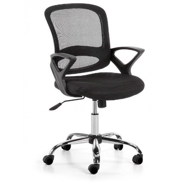 laforma lambert bureaustoel zwart
