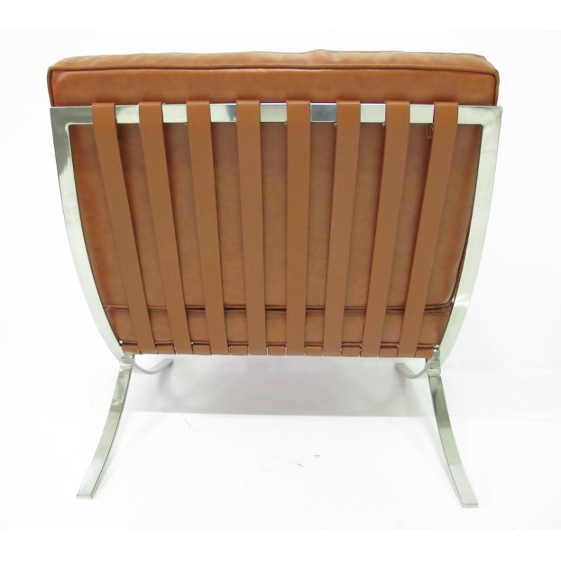 Barcelona design barcelona fauteuil cognac - Fauteuil barcelona copie ...