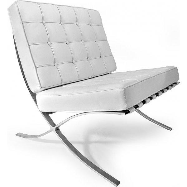 Barcelona fauteuil wit