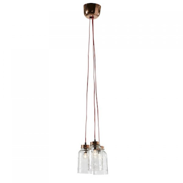 Hanglamp glazen potten