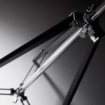 Staande lamp metaal industrieel design