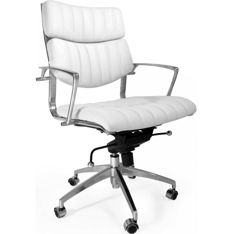 Design Bureaustoel Wit.Bureaustoel Design Office Wit