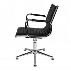 Design conferentiestoel zwart