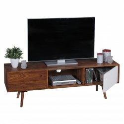 TV Lowboard 140 cm massief hout