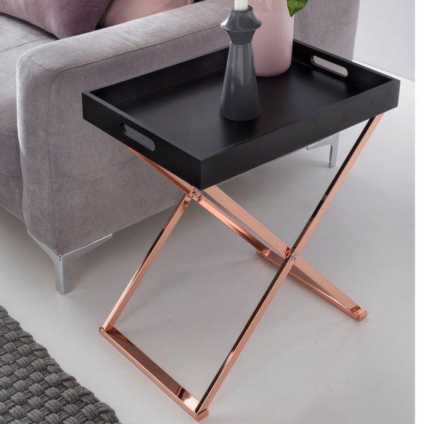 Verbazingwekkend Koper salontafel met dienblad FV-32