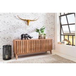 Massief hout acacia dressoir