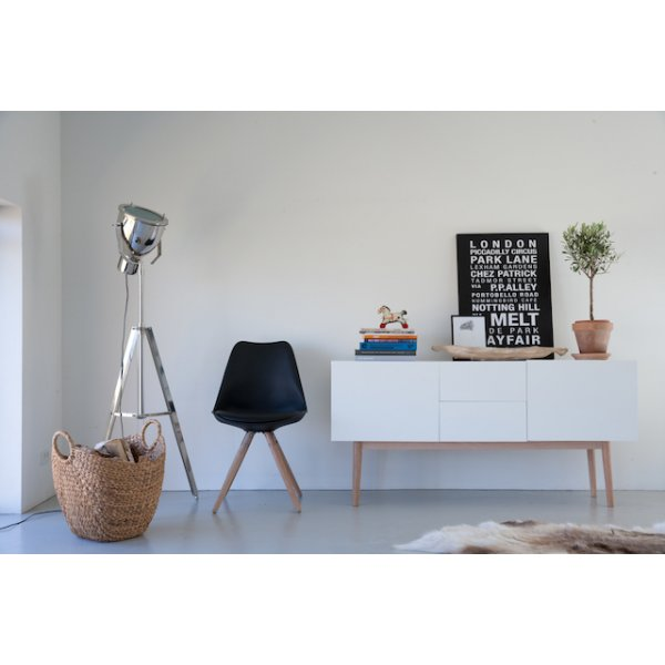 Scandinavisch dressoir wit