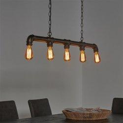 Hanglamp Tubo 5 lampen