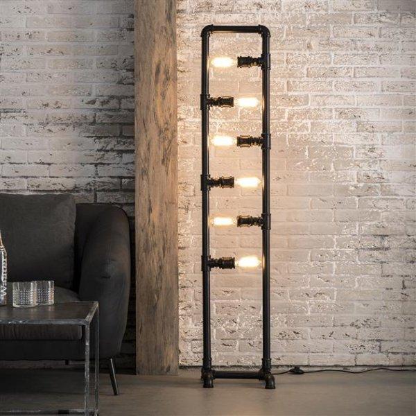 Vloerlamp Tubo 6 lampen