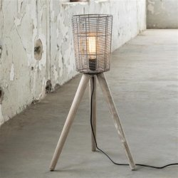 Vloerlamp Cestino laag