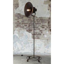 Vloerlamp Vecchio met wieltjes